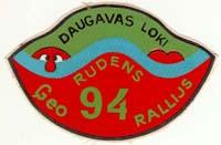 Rudens ģeorallijs  Daugavas loki 1994