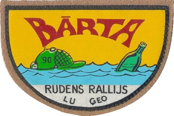 Rudens rallijs Bārta 1990