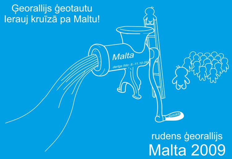 Rudens ģeorallijs Malta 2009